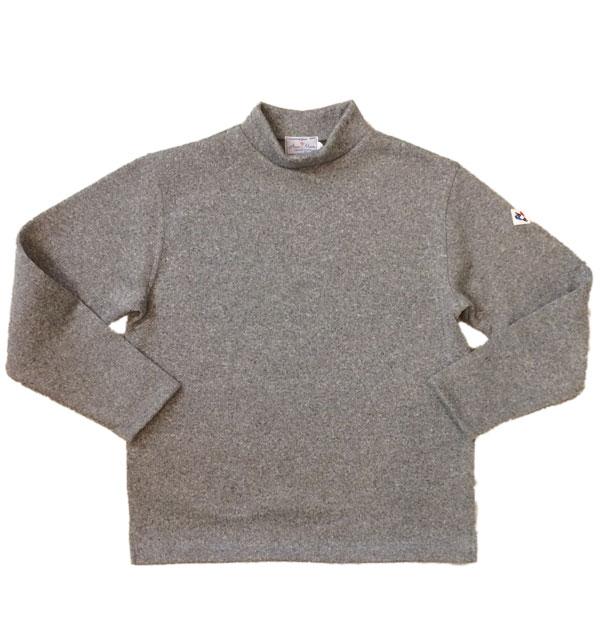 アルボーマレー 【Arvor Maree】 Mock Fleece Knit/Fleece モックネックフリース GRAY