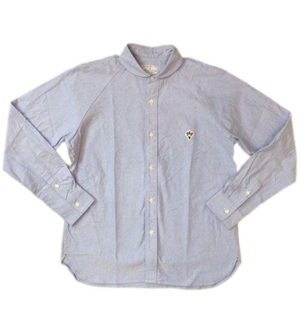 アルボマレー 【ARVOR MAREE】 SAILOR L/S OX SHIRTS オックスフォードシャツ BLUE