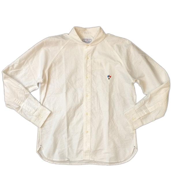 アルボマレー 【ARVOR MAREE】 SAILOR L/S OX SHIRTS オックスフォードシャツ WHITE