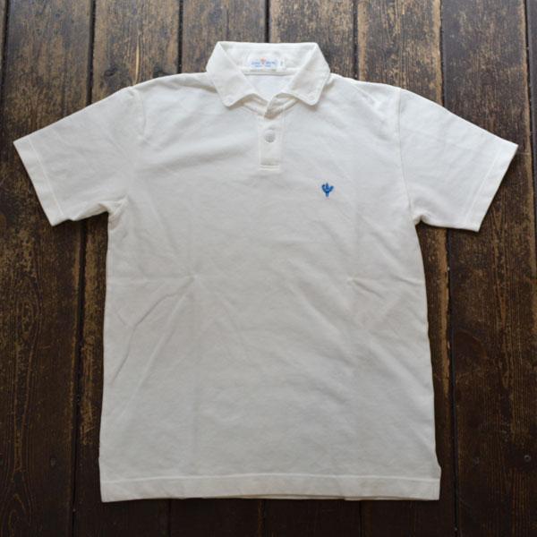 アルボーマレー Arvor Maree ボタンダウン鹿の子ポロシャツ PETITE BD PIQUE POLO WHITE