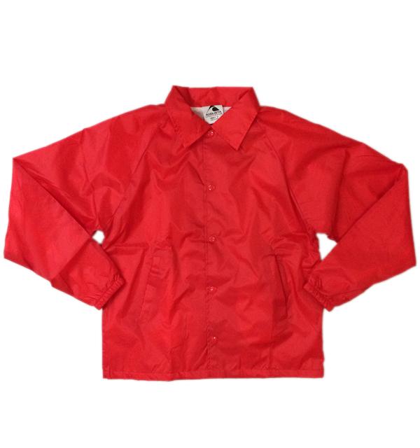 オーガスタ 【AUGUSTA】 コーチジャケット COACH JACKET RED