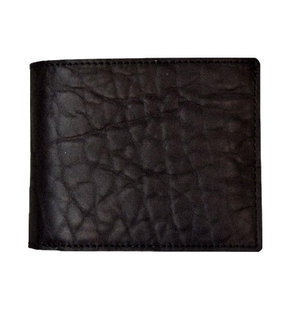 ズー ZOO ブルハイドレザー 二つ折り財布 BADGER BILLFORD ZBF-015 BLACK