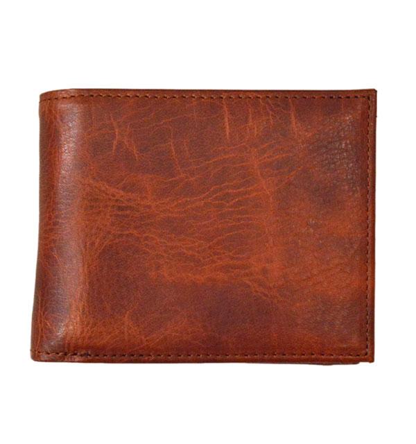 ズー ZOO オイルキップレザー 二つ折り財布 BADGER BILLFOLD ZBF-006 BROWN