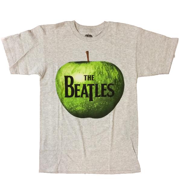 ザ・ビートルズ 【THE BEATLES】 バンドTEE APPLE GRAY