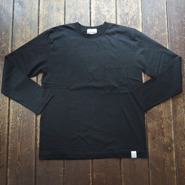ベター BETTER アメリカンコットン  クルーネックロンTEE AMERICAN COTTON L/S SLEEVE CREW NECK T-SHIRT BTR1901 BLACK