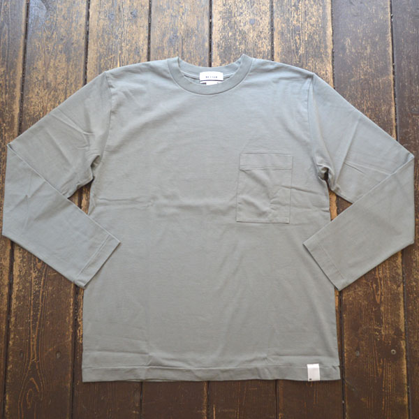 ベター BETTER アメリカンコットン  クルーネックロンTEE AMERICAN COTTON L/S SLEEVE CREW NECK T-SHIRT BTR1901 GRAY