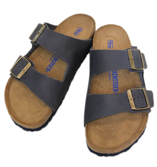 ビルケンシュトック 【BirkenStock】 アリゾナ ARIZONA SFB NUBUCK LEATHER GC1008925 STEER INDIGO