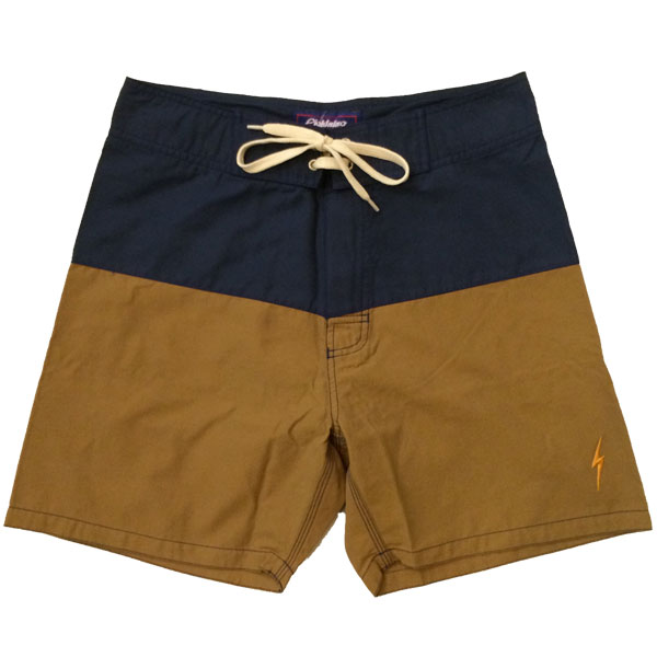 ライトニングボルト 【LIGHTNING BOLT】 Boardshort CATHAY SPICE NAVY×BEIGE
