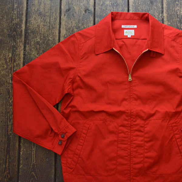 ブルーウォーター BLUE WATER ドリズラージャケット DRIZZLER JACKET RED
