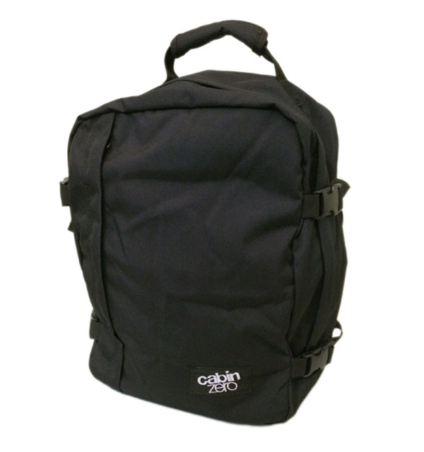 キャビンゼロ 【CABIN ZERO】 Classic Ultra-Light Mini Cabin Bag  28L BLACK