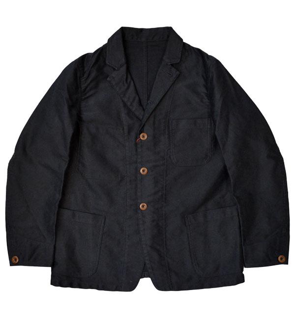 キャンディダム Candidum モールスキン カバーオールジャケット  Moleskin Coverall Jacket C183137 NAVY