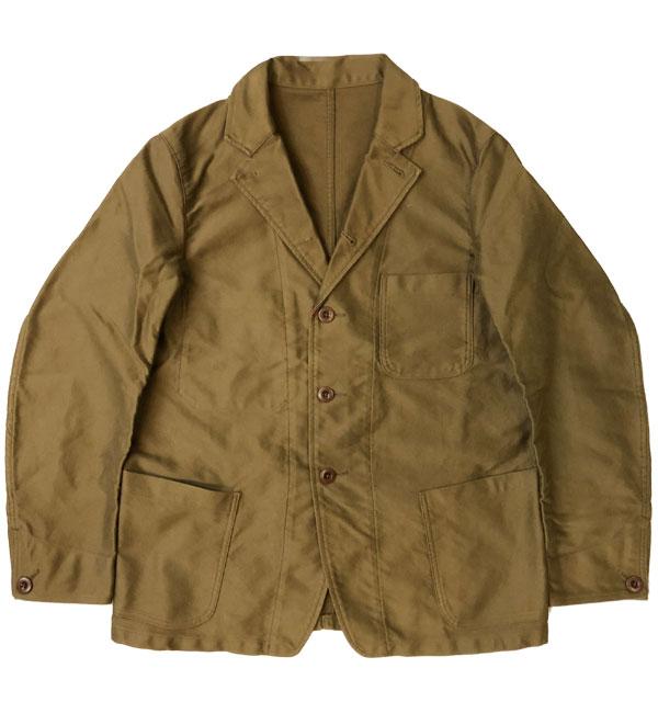 キャンディダム Candidum モールスキン カバーオールジャケット Moleskin Coverall Jacket C183137 OLIVE