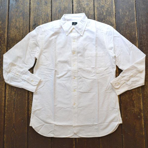 カンディデュム CANDIDUM オックスフォード ボタンダウンシャツ WHITE