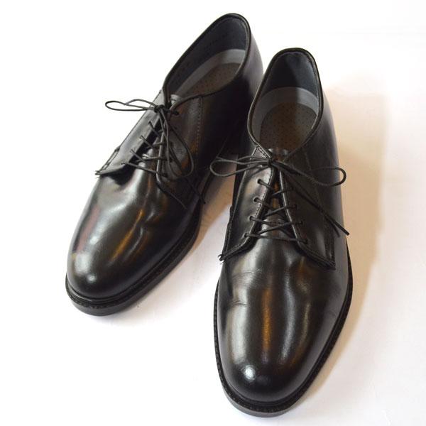 キャップスシューズ CAPPS SHOES プレーントゥ オックスフォード サービスシューズ Capital 90023 Black Leather Air-Lite Oxford MADE IN USA