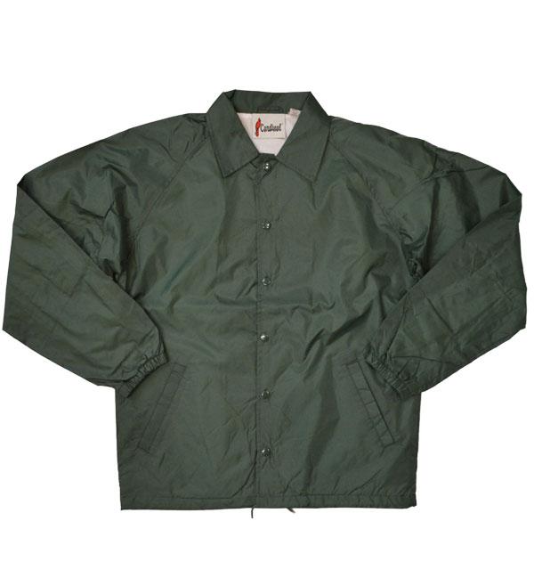 カーディナルアクティブウェア 【Cardinal Activewear】 コーチジャケット COACH JACKET GREEN