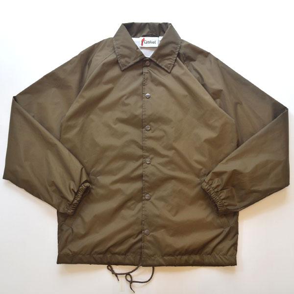 カーディナルアクティブウェア Cardinal Activewear コーチジャケット COACH JACKET BROWN