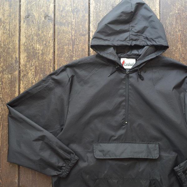 カーディナルアクティブウェア Cardinal Activewear パッカブル アノラックパーカー PACKABLE ANORAK BLACK