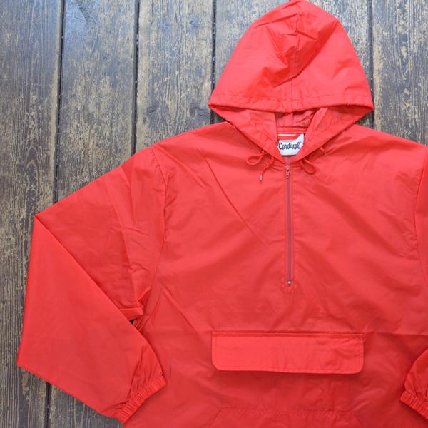 カーディナルアクティブウェア Cardinal Activewear パッカブル アノラックパーカー PACKABLE ANORAK RED