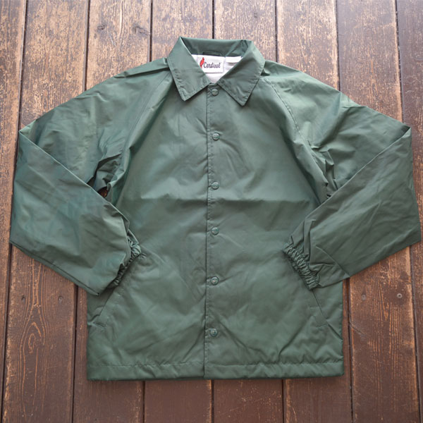 カーディナルアクティブウェア Cardinal Activewear コーチジャケット COACH JACKET GREEN