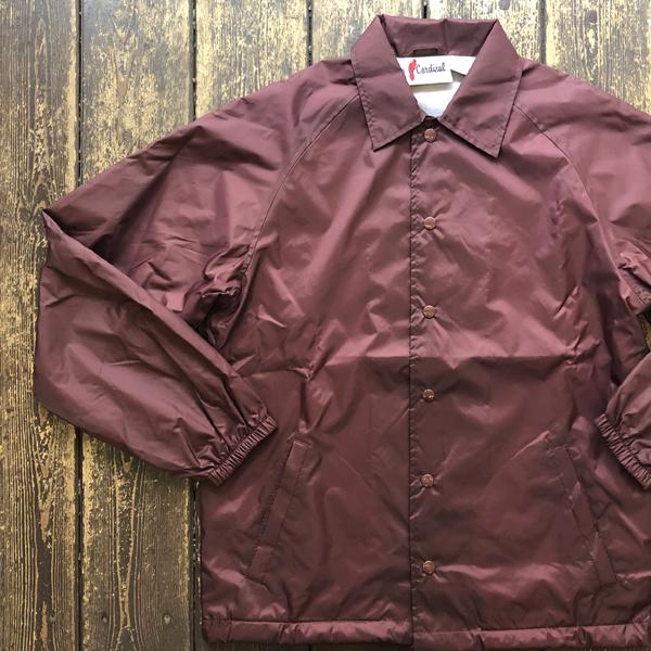 カーディナルアクティブウェア Cardinal Activewear コーチジャケット COACH JACKET BURGUNDY
