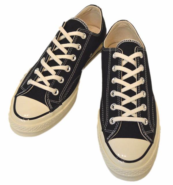 コンバース 【Converse】 オールスター チャックテーラー CT70 Chuck Taylor LOW BLACK