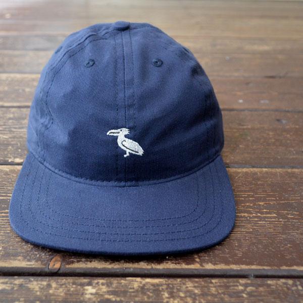 クーパーズタウン ボールキャップ Coopers Town Ball Cap 6P コットンロゴキャップ Brushed Cotton Small Logo Cap BIRD NAVY