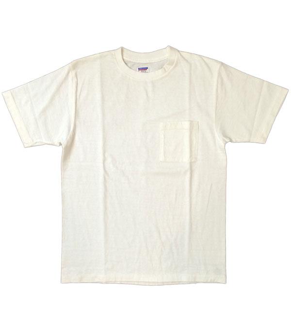 ダブルワークス 【DUBBLE WORKS】 ラフィ天竺 ポケットTシャツ POCKET T-SHIRT 無地 PLAIN WHITE