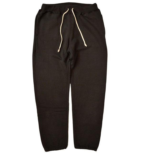 ダブルワークス 【DUBBLE WORKS】 スウェットパンツ SWEAT PANTS PLAIN BLACK