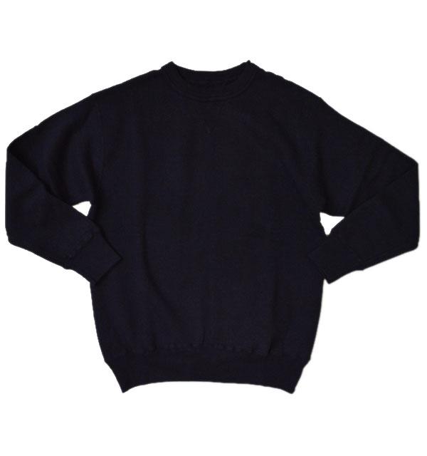 ダブルワークス DUBBLE WORKS 吊り編み クルーネック スウェットシャツ TSURIAMI SWEAT SHIRT Lot.86001 NAVY