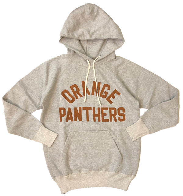 ダブルワークス 【DUBBLE WORKS】 プルオーバーパーカー PULLOVER PARKA ORENGE PANTHERS GRAY
