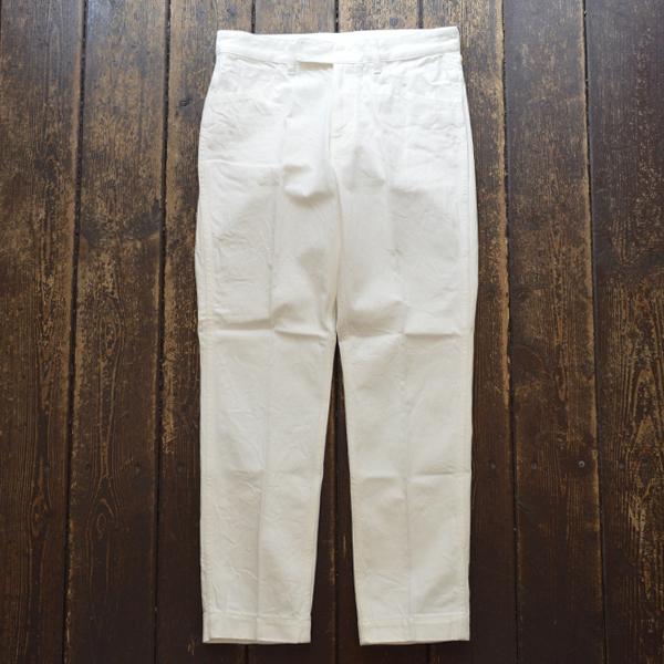ディーシーホワイト D.C.WHITE ホワイトデニム マックイーンパンツ D301880