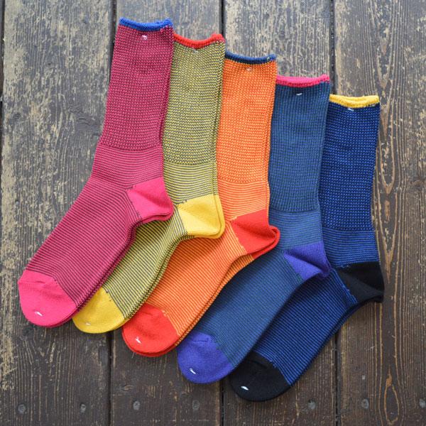 BRU NA BOINNE × decka quality socks ツインコース ソックス Twin course socks
