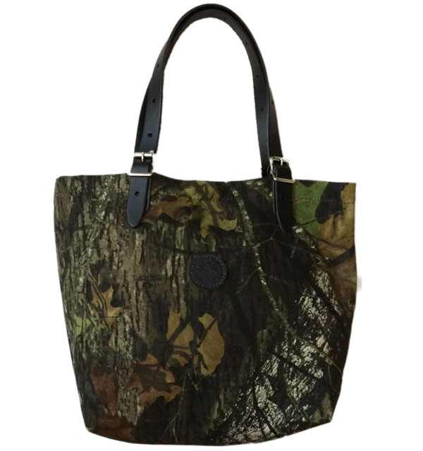 ダルースパック 【DULUTH PACK】 MARKET TOTE BAG MEDIUM REAF CAMO