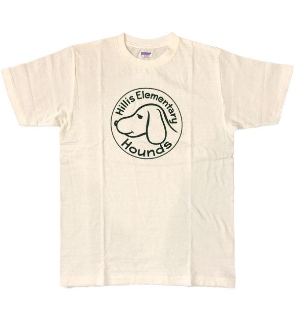 ダブルワークス 【DUBBLE WORKS】 ラフィ天竺 プリントTシャツ PRINT T-SHIRT HILLS ELEMENTARY WHITE