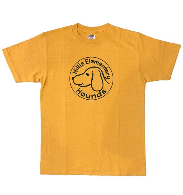ダブルワークス 【DUBBLE WORKS】 ラフィ天竺 プリントTシャツ PRINT T-SHIRT HILLS ELEMENTARY OAKER