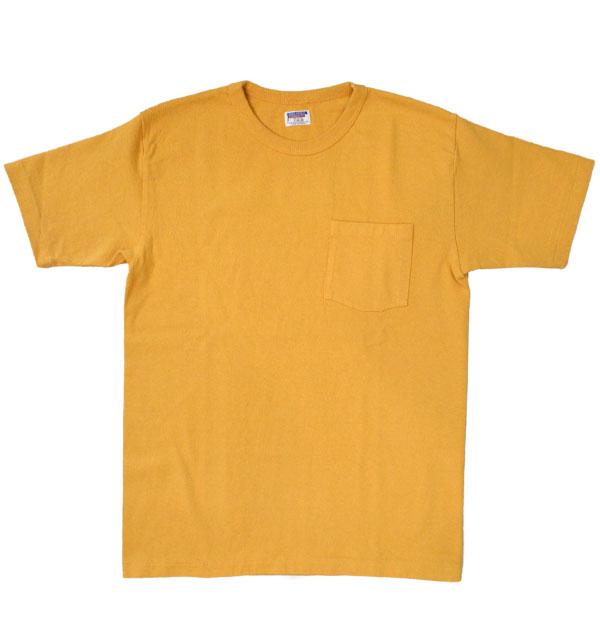 ダブルワークス 【DUBBLE WORKS】 8番手 度詰め丸胴天竺 ポケットTシャツ HEAVY WEIGHT POCKET TEE Lot.37002 OAKER