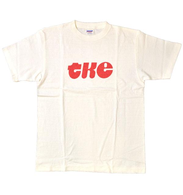 ダブルワークス DUBBLE WORKS ラフィ天竺 プリントTシャツ PRINT T-SHIRT TKE 33005 WHITE