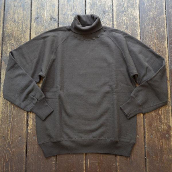 ダブルワークス DUBBLE WORKS タートルネック スウェットシャツ Turtleneck SweatShirt Lot.85003 BLACK
