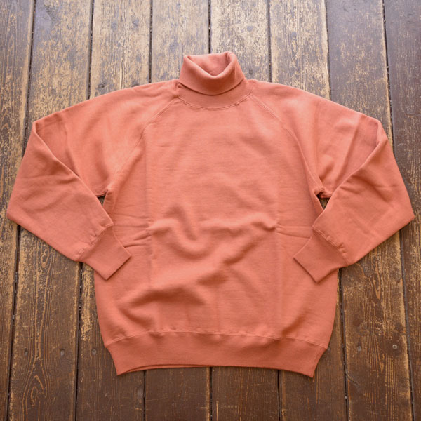 ダブルワークス DUBBLE WORKS タートルネック スウェットシャツ Turtleneck SweatShirt Lot.85003 BROWN