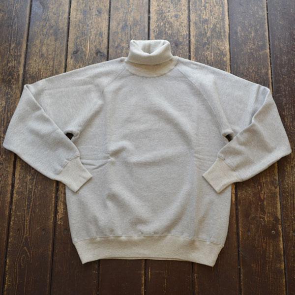 ダブルワークス DUBBLE WORKS タートルネック スウェットシャツ Turtleneck SweatShirt Lot.85003 GRAY