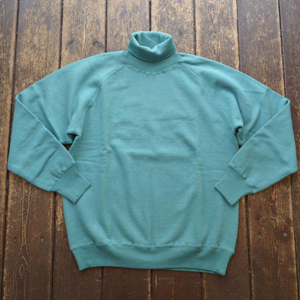 ダブルワークス DUBBLE WORKS タートルネック スウェットシャツ Turtleneck SweatShirt Lot.85003 BLUE