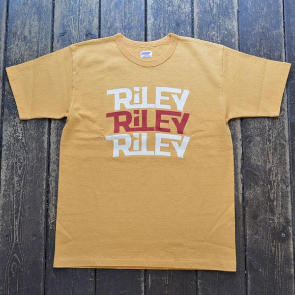 ダブルワークス DUBBLE WORKS 8番手 度詰め丸胴天竺 プリントTシャツ HEAVY WEIGHT PRINT TEE Lot.37001 RILEY OAKER