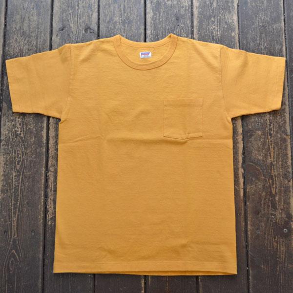 ダブルワークス DUBBLE WORKS 8番手 度詰め丸胴天竺 ポケットTシャツ HEAVY WEIGHT POCKET TEE Lot.37002 OAKER