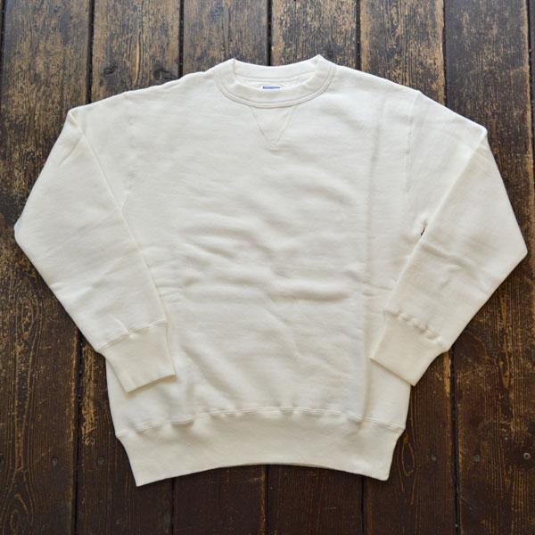 ダブルワークス DUBBLE WORKS 吊り編み クルーネック スウェットシャツ TSURIAMI SWEAT SHIRT Lot.86001 WHITE