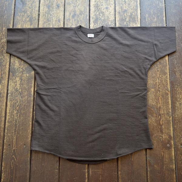 ダブルワークス DUBBLE WORKS ドルマンスリーブ ライトウェイトスウェットシャツ Dolman Sleeve Light Weight Sweat Shirts Lot.79001 BLACK