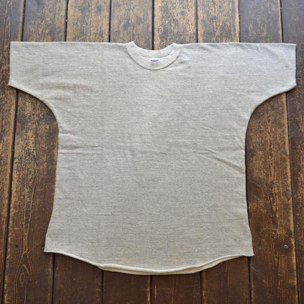 ダブルワークス DUBBLE WORKS ドルマンスリーブ ライトウェイトスウェットシャツ Dolman Sleeve Light Weight Sweat Shirts Lot.79001 GRAY