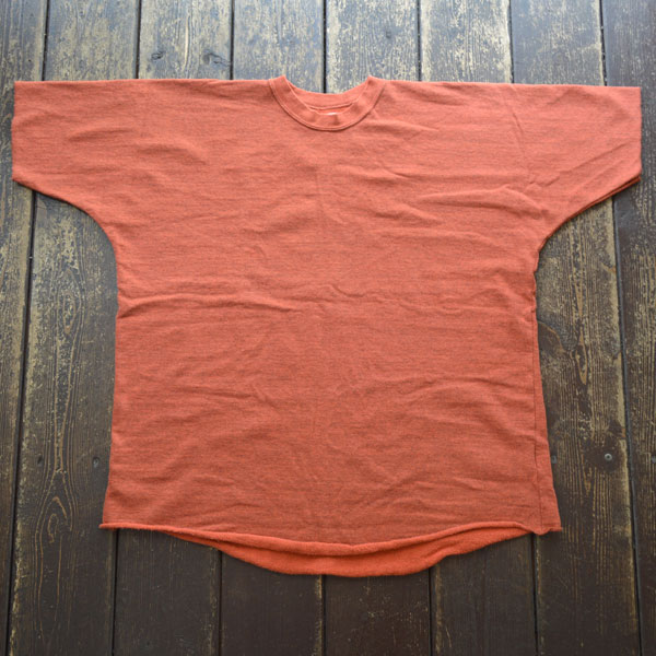 ダブルワークス DUBBLE WORKS ドルマンスリーブ ライトウェイトスウェットシャツ Dolman Sleeve Light Weight Sweat Shirts Lot.79001 RED