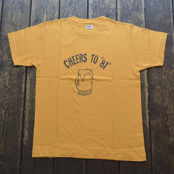 ダブルワークス DUBBLE WORKS ラフィ天竺 プリントTシャツ PRINT T-SHIRT CHEER TO 81 33005 OAKER