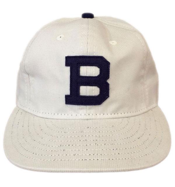 エベッツフィールドフランネル  【EBBETS FIELD FLANNELS】  BEDFORD CORD BASEBALL CAP ピケベースボールキャップ STONE