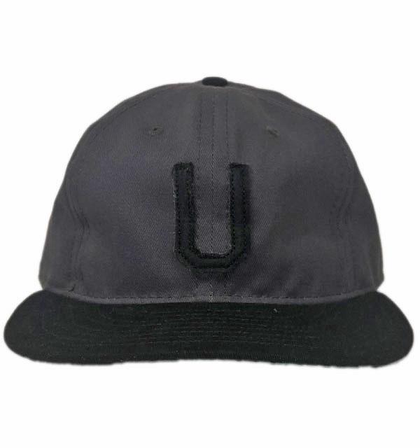 エベッツフィールドフランネル  【EBBETS FIELD FLANNELS】 コットンツイルベースボールキャップ COTTON TWILL CAP UTICA BRAVES 1941 GRAY/BLACK